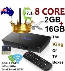 NEW 2GB 16GB X92 Octa Core Amlogic S912 Android Kodi Smart TV Box Doveton Casey Area Preview