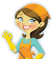 Residential cleaning anytime of the day
