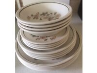 16 piece plate and bowl set
