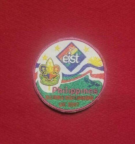 2007 Philippine Contingent IST Pocket Patch World Jamboree
