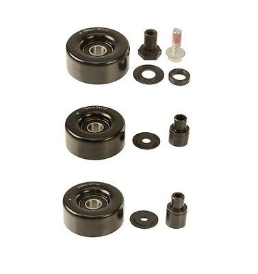 Porsche Accessory Belt Tensioner Acc. Belt Idler Pulleys SEBRO