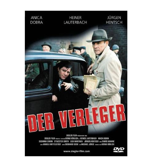 DER VERLEGER 1 + 2 / DVD SPIELFILM MIT HEINER LAUTERBACH ALS AXEL SPRINGER