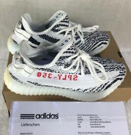 Adidas Yeezy Boost 350 V2 Zebra With Orignal Receipt