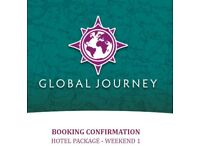 4x Global Journey Hotel Package 2018 tickets