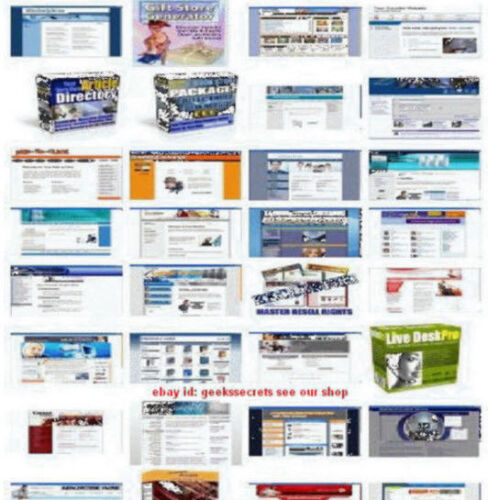 1000 plus  Websites Turnkey & 300plus PHP Scripts With Resell Rights