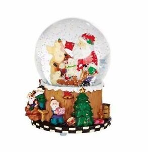Musical Snow globe - We Wish You A Merry Christmas