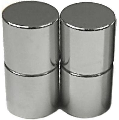 4 Neodymium Magnets 1/2 X 1/2 Inch Cylinder N48