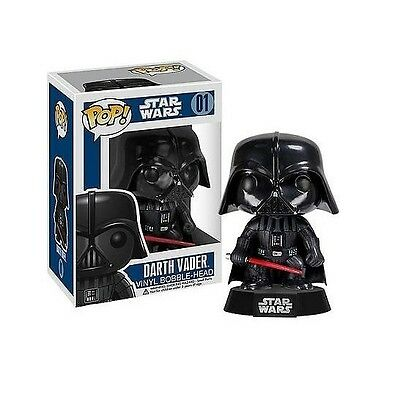 Star Wars Darth Vader Number 01 Vinyl Bobble Head Funko Pop