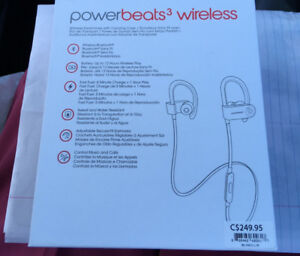 Écouteurs sans fil Powerbeats 3 wireless