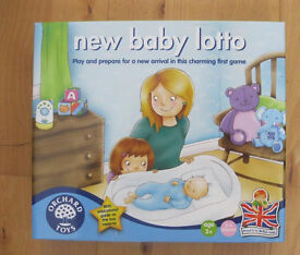 Orchard Toys 'New Baby' Lotto, Boxed as NEW.