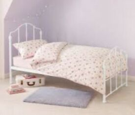 NEXT HOME EVIE METAL FRAME SINGLE BED