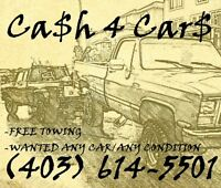 CALL ME TODAY GONE TODAY CARS TRUCKS $$ 403 614 5501 $