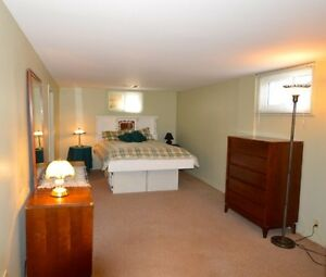 Large 1 Bedroom - Separate Entrance $600.00/M All Inclusive