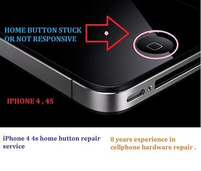 Apple Iphone 5   5C 5S Home Button Service Repair  No Touch Id