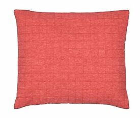 Brand New - John Lewis Jersey Cushion - Watermelon X 2