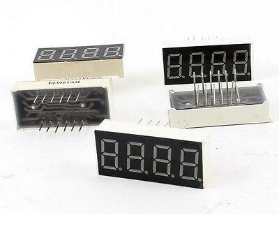 0.4 Inch 4 Digit Led Display 7 Seg Segment Common Cathode -red