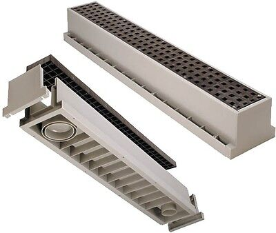 Drain System - Tuf-Tite Trench Drain   Tuf-Tite TR1 Drain System 3ft. (Complete with Grate)