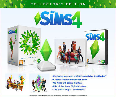 The Sims 4   Collectors Edition  Pc Dvd Mac Computer  Region Free  English  New