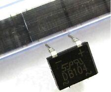 rectifier bridge ponte raddrizzatore 1A-400V 5pcs DB104 DC Components