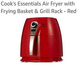 Cook's Essentials Air Fryer with Frying Basket & Grill Rack!
