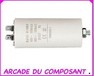 Condensateur demarrage moteur karcher
