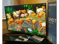Samsung 40 inch 4K Ultra HD HDR Smart led tv UE40KU6470 with voice control, built-in WIFI