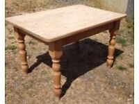 Pine farm house table