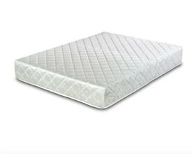 BRAND NEW DOUBLE SPRING ROLLED MATTRESS - VISCO FOAM - UNUSED