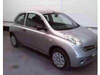 Nissan micra petrol silver breaking parts