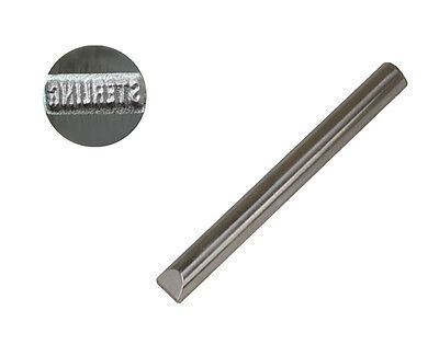 "1 MM JEWELER'S STEEL STAMP ""STERLING"" STRAIGHT SILVER JEWELRY PUNCH"