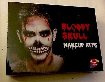 Bloody Skull Makeup Kit NIB - Bloody Makeup