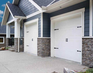 New Quality Insulated Steel Garage Doors at Pick Up Pricing!