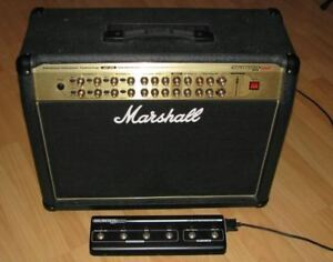 Marshall AVT-275 guitar amp with pedal - Mint