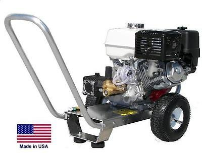Pressure Washer Portable - Cold Water - 2.5 Gpm - 3300 Psi - 5.5 Hp Honda Cati