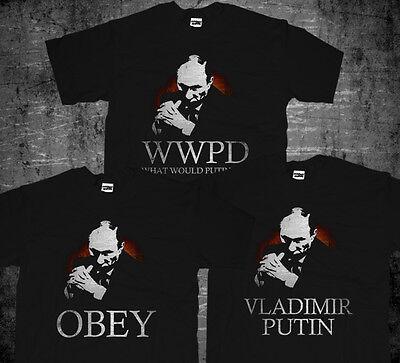 New Kgb Russian Federation President What Would Putin Do Vladimir Putin T Shirt