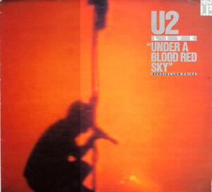 ★ U2 - Under a Blood Red Sky ★ Vinyle 33tour Lp  + liste