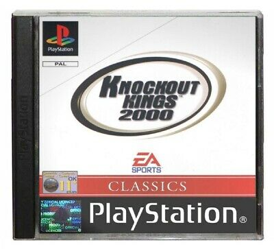 KNOCKOUT KINGS 2000 (PS1 Game) Playstation C