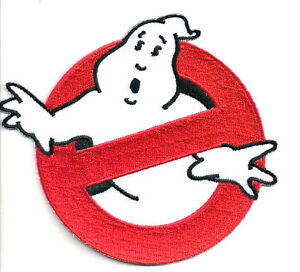 Ghostbusters No Ghosts Logo Screen Accurate Embroidered 4