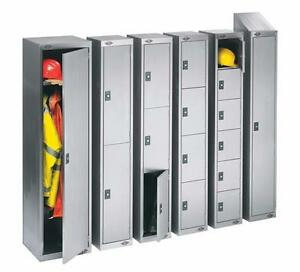 EMPLOYEE LOCKERS - SINGLE TIER, DOUBLE TIER, LOCKERETTE