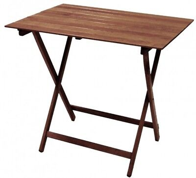 Table Foldable Space-Saving in Beech Nut Pic Nic 80 x 60 Foldable