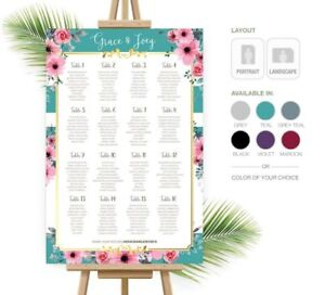 Wedding Welcome Signs, Seating Chart, and more..