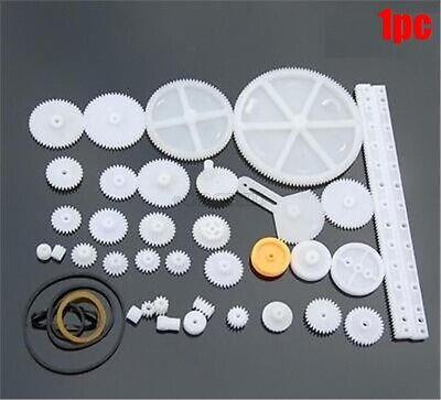 34 Kinds Plastic Shaft Rack Reduction Worm Gears Belt Pulley For Robot Nz