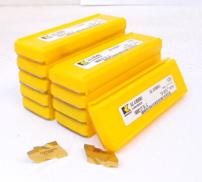 50 New Kennametal Top Notch Grooving Carbide Inserts Size 4 .125- .160-
