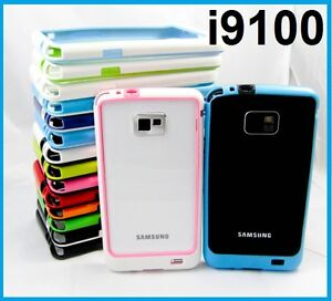TPU Gel Rubber Soft Bumper Case Samsung Galaxy S2 Plus i9100 i9105 i9105p