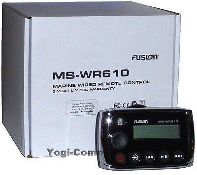 Remote Wired Remote (Fusion MS-WR610 Marine Stereo Wired Remote Control)