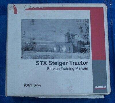 Stx Steiger Tractor Service Training Manual Form 5079