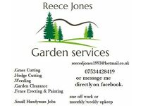 Garden services and general handyman
