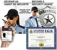 SECURITY AGENT COURSE - $17.10/H - SECURITY LICENCE FROM  BSP