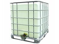 50 x 1000 litre IBC containers for sale