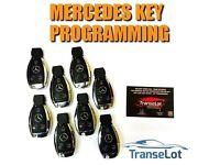 NEW Mercedes Key Programming Chrome Key Programming